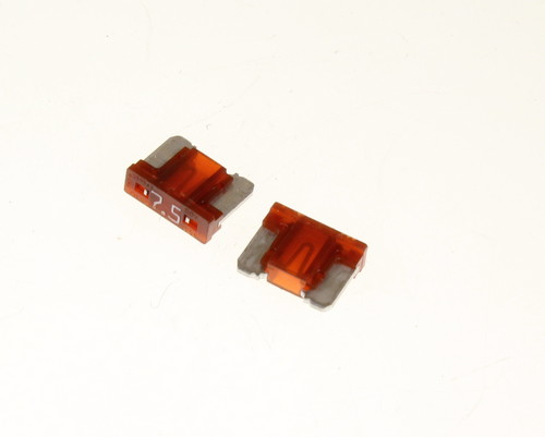 Picture of 089707.5N LITTELFUSE fuse 7.5A 58V Cartridge Blade