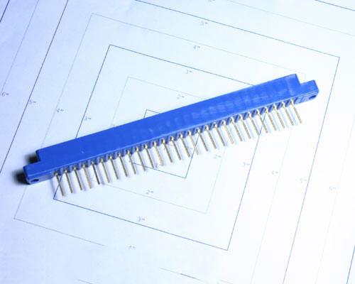 Picture of 143-028-03 WIRE-PRO connector PC Board Card Edge