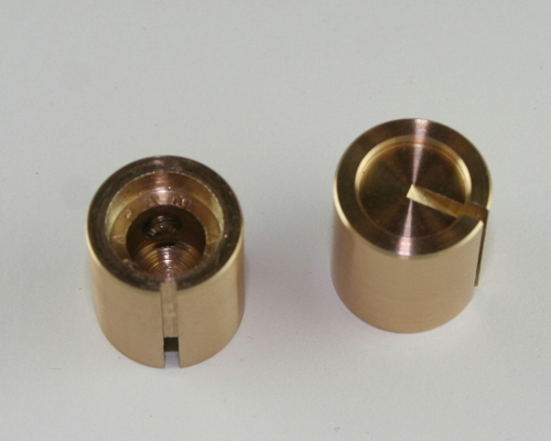 Picture of KHF-500G ALCO knob brass Plain Body