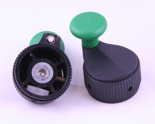 Picture of 175-6-2G-7 EHC knob plastic crank
