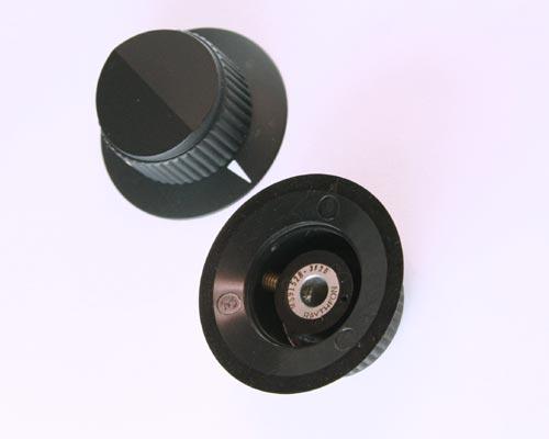Picture of 125-3-2G JAN HARDWR knob plastic Skirted