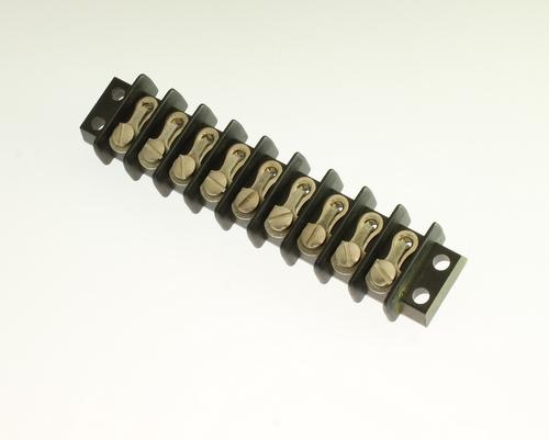 Picture of 9-141Y CINCH connector Terminal Blocks Cinch Barrier Blocks 141 Series