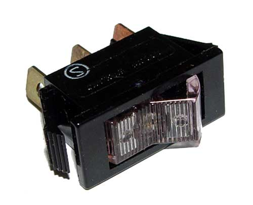Picture of 1600W-11E-2800 A-H switch Rocker  Miniature