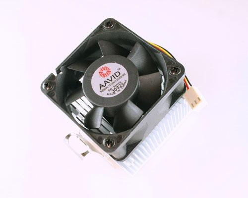 Picture of 11-K754-01 AAVID 12 VDC fan with heat sink