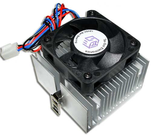 Picture of 190112VDC byab 12 VDC fan with heat sink