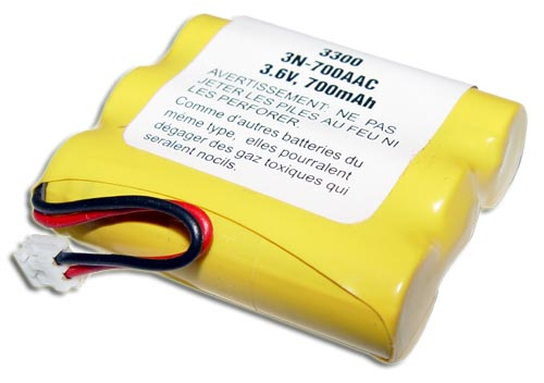 Picture of 3N-700AAC SANYO battery 3.6V