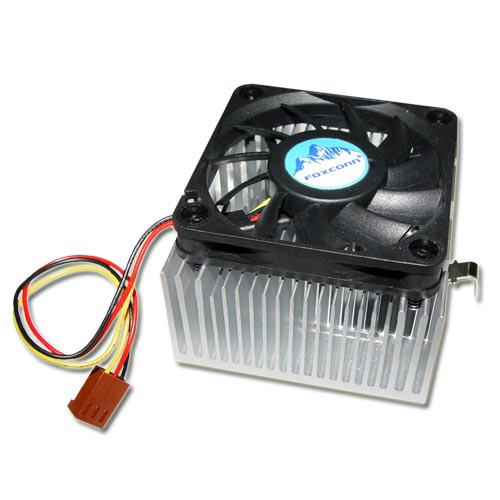 Picture of PK0451AEDAUFB FOXCONN 12 VDC fan with heat sink
