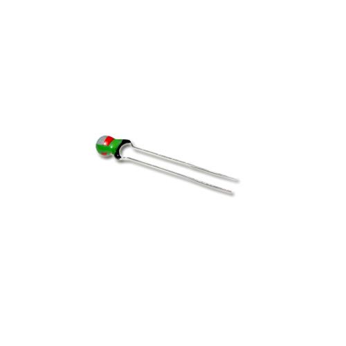 Picture of T368B825K025 KEMET capacitor 8.2uF 25V tantalum dipped