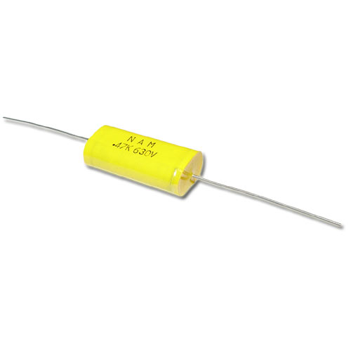 Picture of 0.47MFD630V NAM capacitor 0.47uF 630V Film Axial