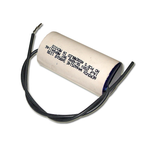 Details about New 2 Pcs. of 14uF 250V AC Motor Run Capacitor Aerovox