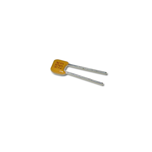 Picture of C320C153K5R5CA KEMET capacitor 0.015uF 50V CERAMIC MONOLITHIC RADIAL