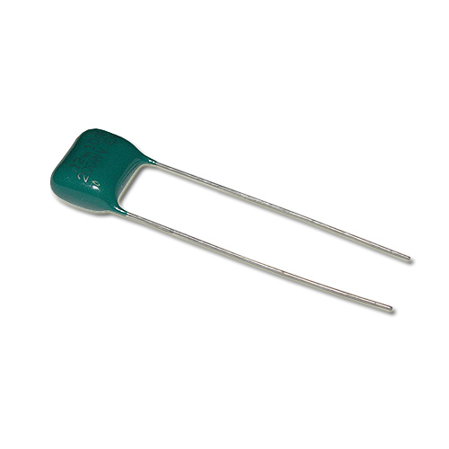Picture of 0.12MFD-200V EL MENCO capacitor 0.12uF 200V Film Polyester Radial