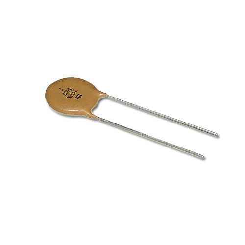 Picture of YC15XJ0103M BYAB capacitor 0.01uF 500V Ceramic Disc