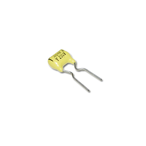 Picture of 0.0082-200VJ PAKTRON capacitor 0.0082uF 200V Film Polyester Radial