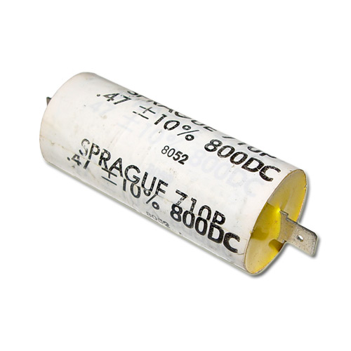 Picture of 710P SPRAGUE capacitor 0.47uF 800V Film Polypropylene Axial