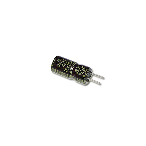 Picture of 3L0-0039-58 NIPPON capacitor 10uF 16V Aluminum Electrolytic Radial High Temp