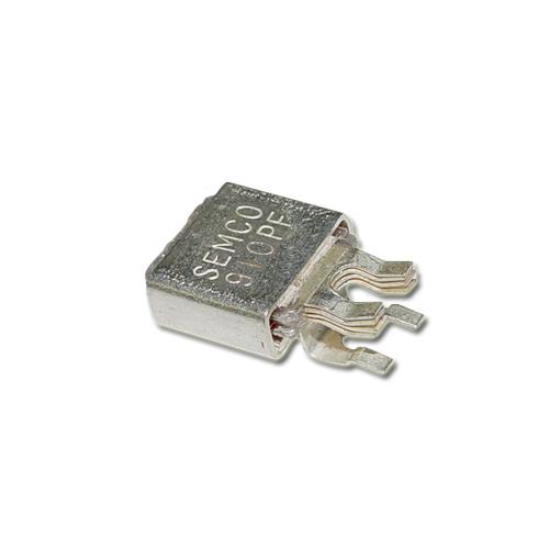 Picture of MC911J250 SEMCO capacitor 910pF 250V Silver Mica Metal Clad