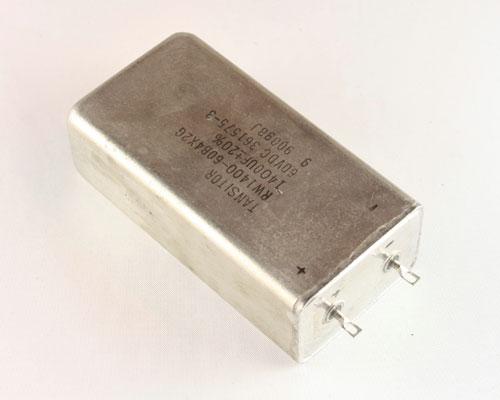Picture of RW1400-60B4X2G TANSITOR capacitor 1,400uF 60V Tantalum Radial