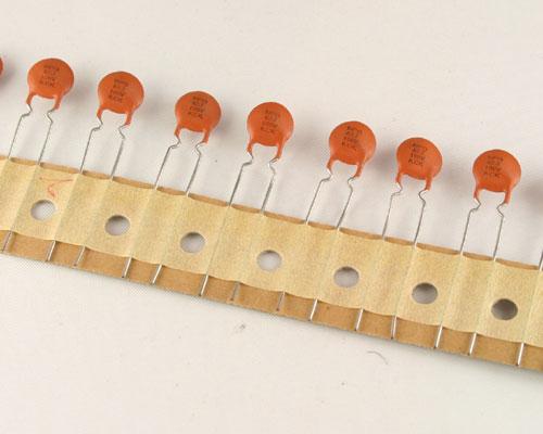 Picture of CD82PJ100NPO KCK capacitor 82pF 100V CERAMIC Disc