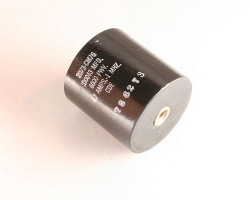 Picture of 2073-CM76 CDE capacitor 430pF 6000V Ceramic Transmitting
