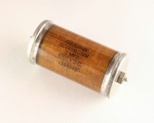 Picture of GC245M104M GUDEMAN capacitor 0.1uF 4000V Glass Axial