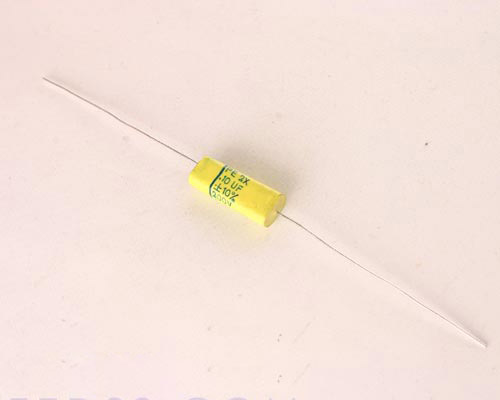Picture of PE2X-.1-200-10 F-DYNE capacitor 0.1uF 200V Film Polyester Axial
