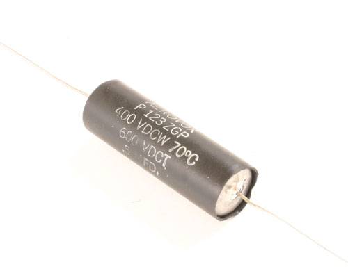 Picture of P123ZGP AEROVOX capacitor 0.5uF 400V Film Metallized Paper Axial