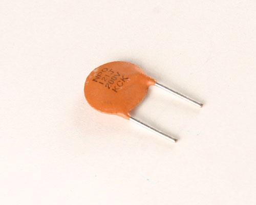 Picture of CD121J200KV.36NPOSL KCK capacitor 120pF 200V Ceramic Disc