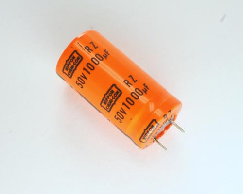 Picture of EP102M5025X52105 UNITED CHEMICON capacitor 1,000uF 50V Aluminum Electrolytic Snap In High Temp