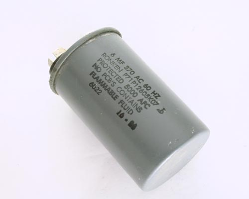 Picture of P71P12605K07 RONKEN capacitor 6uF 370V Application Motor Run