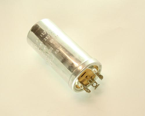 Picture of 10816029 BYAB capacitor 120uF 150V Aluminum Electrolytic Large Can Twist Lock