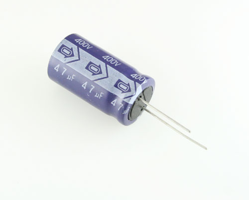 Picture of ER476M400V22X4185 SAMWHA capacitor 47uF 400V Aluminum Electrolytic Radial