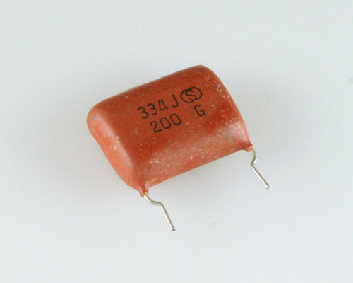 Picture of RM334J200V-0.75-FL SPRAGUE capacitor 0.75uF 200V Film Radial