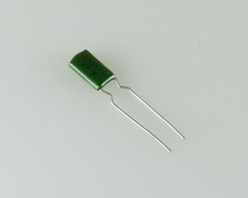 Picture of KT121-682J100V ASELCO capacitor 0.0068uF 100V Aluminum Electrolytic Radial