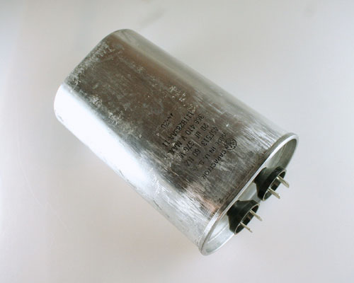 Picture of 45F513 GENERAL ELECTRIC capacitor 20uF 370V Application Motor Run