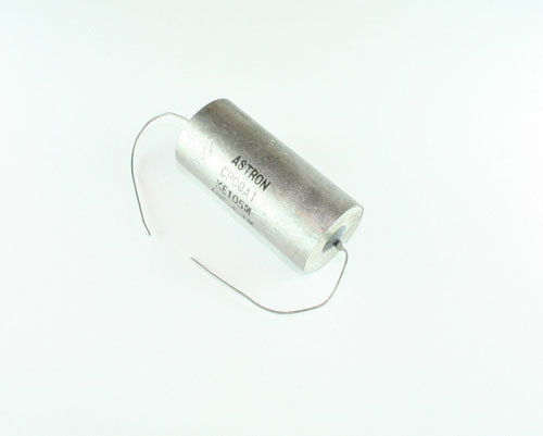 Picture of CP08A1KE105M ASTRON 1uF 400V Oil Hermetically Sealed Axial capacitor