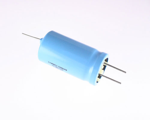 Picture of DCME1038 Cornell Dubilier (CDE) capacitor 1,200uF 200V Aluminum Electrolytic Radial High Temp