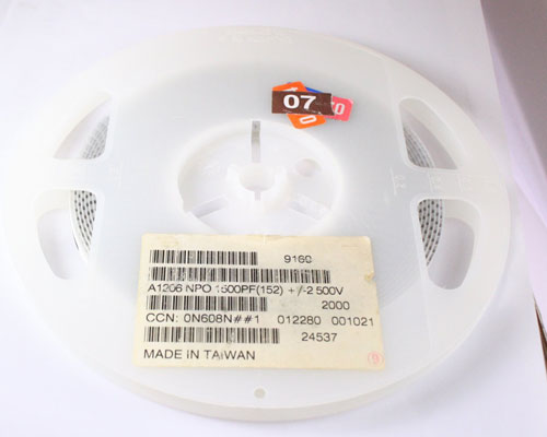 Picture of A1206NPO1500PF BYAB capacitor 0.0015uF 2500V Ceramic Surface Mount