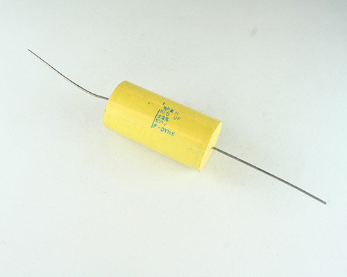 Picture of MPE11-10-100-2 F-DYNE capacitor 10uF 100V Film Metallized Polyester Axial
