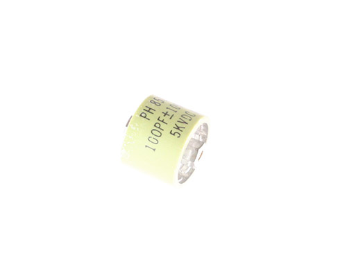 Picture of 850S-100N BYAB capacitor 100pF 5000V Ceramic Transmitting