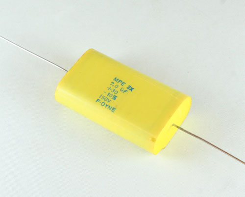 Picture of MPE2X-7-150-30-10 F-DYNE capacitor 7uF 150V Film Metallized Polyester Axial