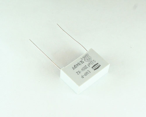 Picture of BS3342FTPM TEAPO capacitor 0.33uF 250V Film Radial