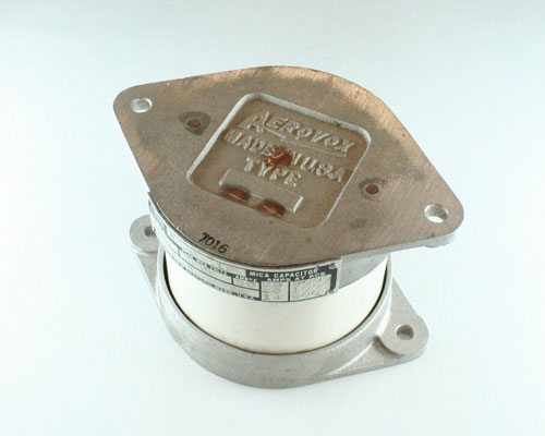 Picture of 1960-219 AEROVOX capacitor 0.005uF 8000V Ceramic Transmitting
