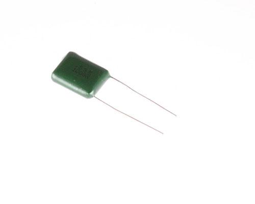Picture of B334K100V BREL capacitor 0.33uF 100V Film Radial