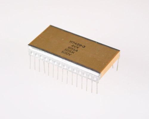 Picture of 117429-3D AVX capacitor 5uF 500V Ceramic MONOLITHIC Radial