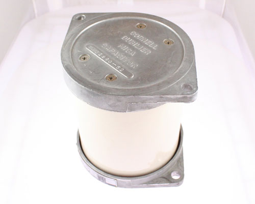 Picture of 2890-52 CDE capacitor 0.01uF 10000V Silver Mica Transmitting