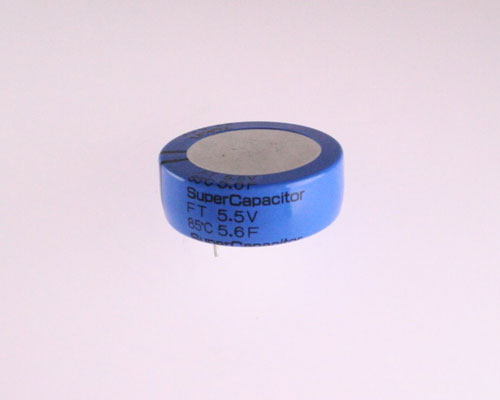 Picture of FT0H565ZF TOKIN capacitor 5.6uF 5.5V Aluminum Electrolytic Radial