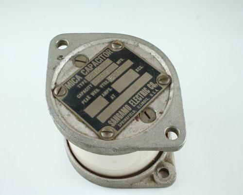 Picture of G1B4006KV SANGAMO capacitor 400pF 6000V Silver Mica Transmitting