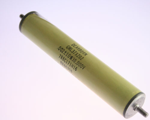 Picture of GML37X202 DEARBORN capacitor 0.002uF 30000V Glass Axial