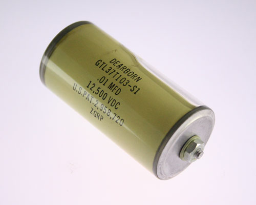 Picture of GTL37T103-S1 DEARBORN capacitor 0.01uF 12500V Glass Axial